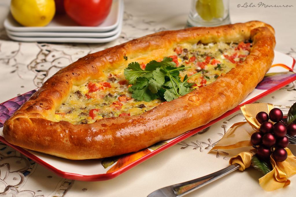 Турецкая пицца фото рецептами