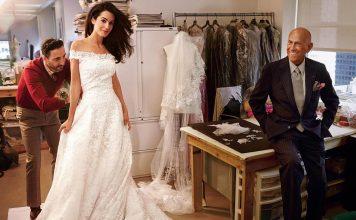 Gaun Pernikahan Amal Clooney Dipamerkan di Houston