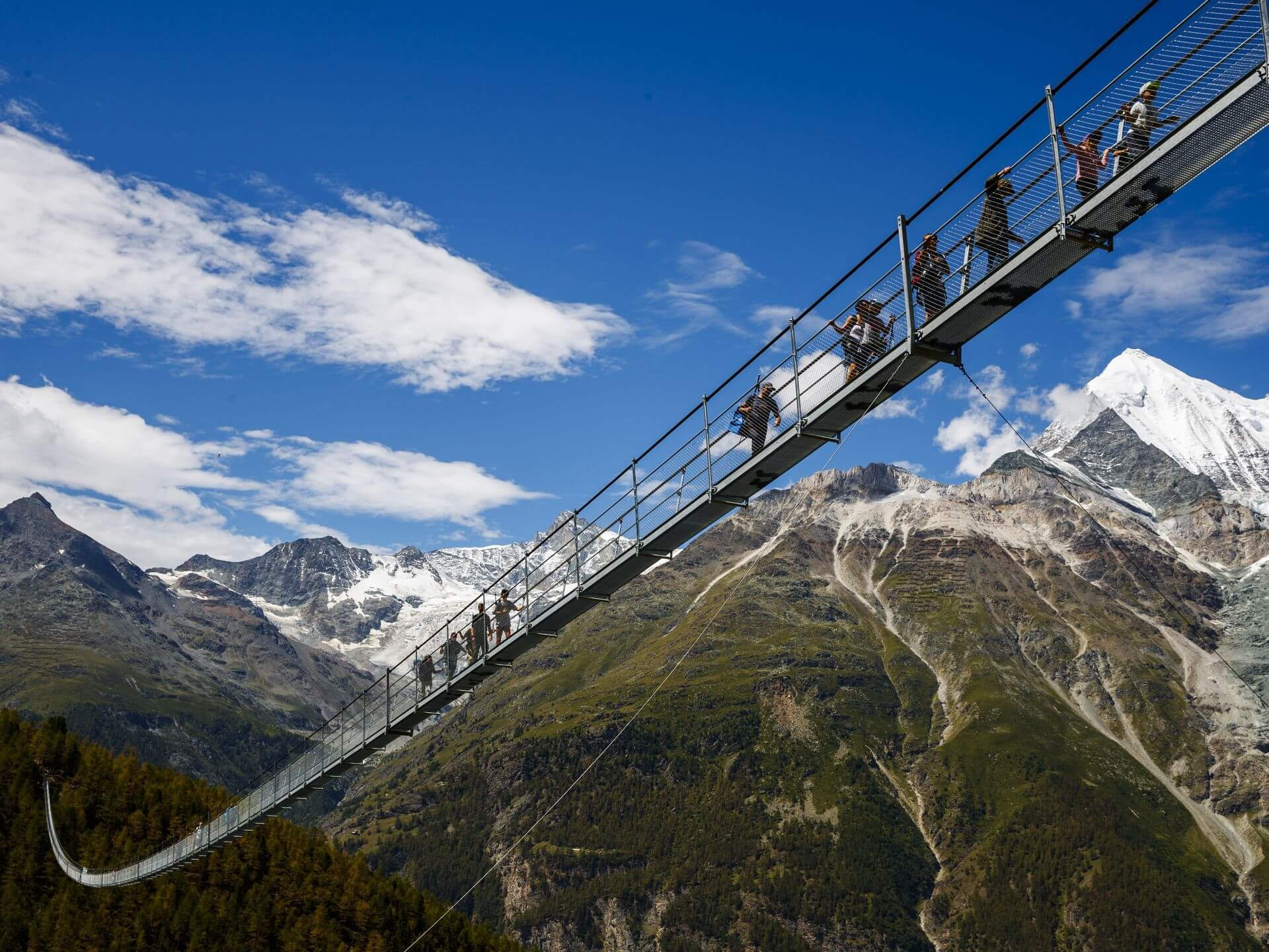 jembatan pejalan kaki terpanjang di dunia
