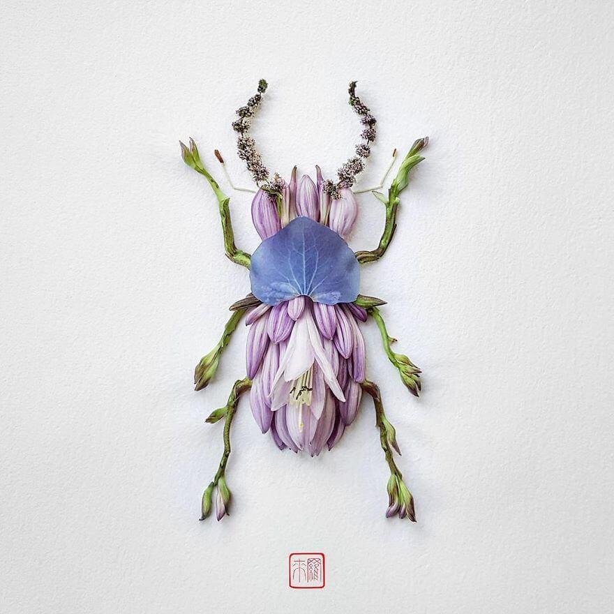 serangga dari tanaman bunga