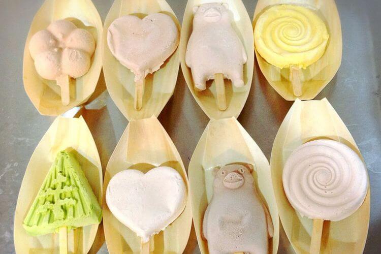 kanazawa es krim nggak bisa meleleh