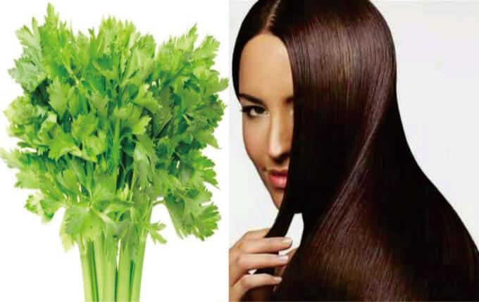 rambut lurus bahan alami
