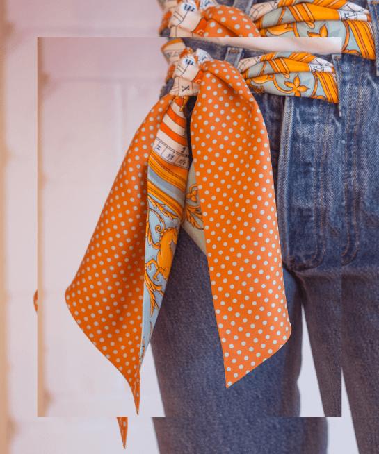 kreasi scarf syal