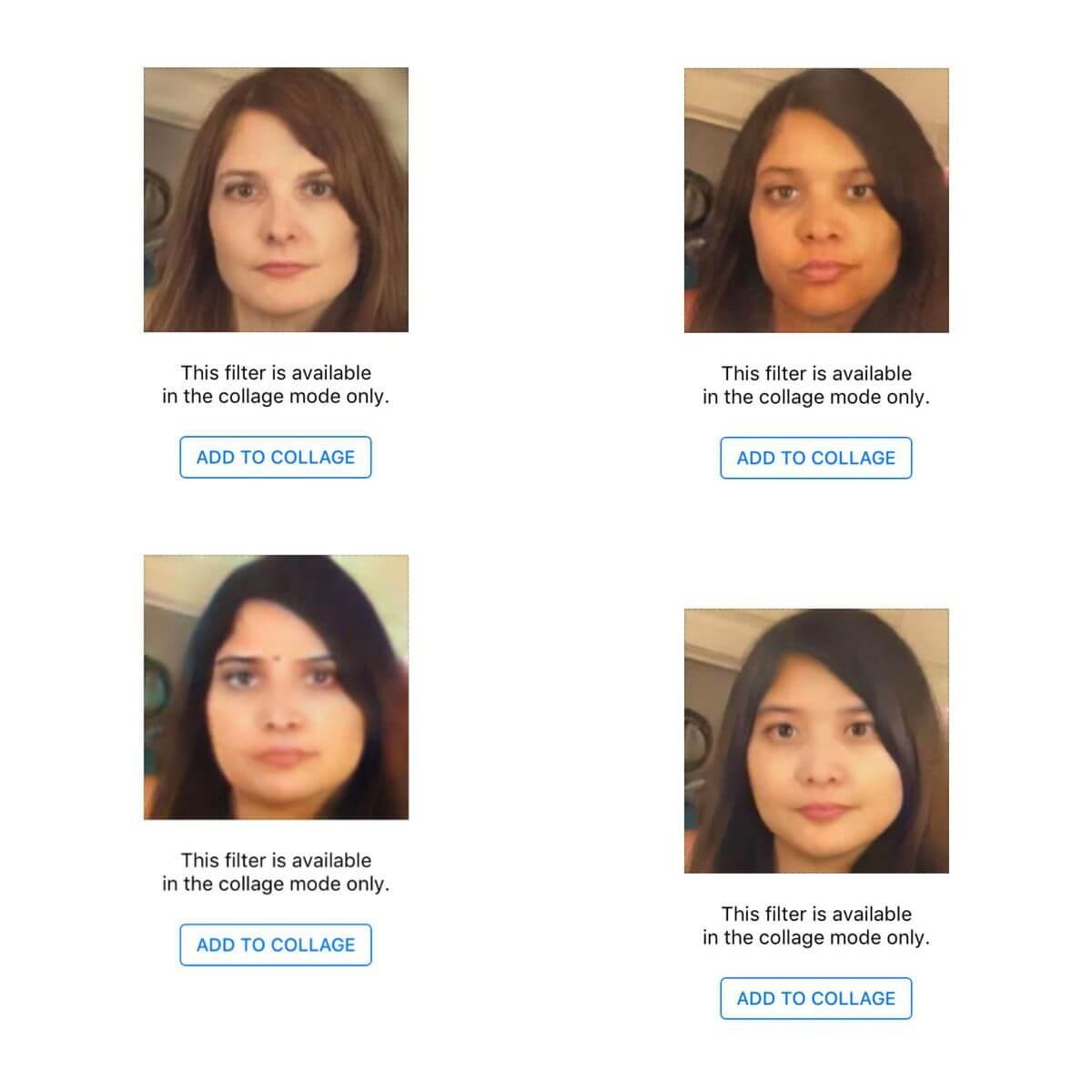 faceapp filter rasis
