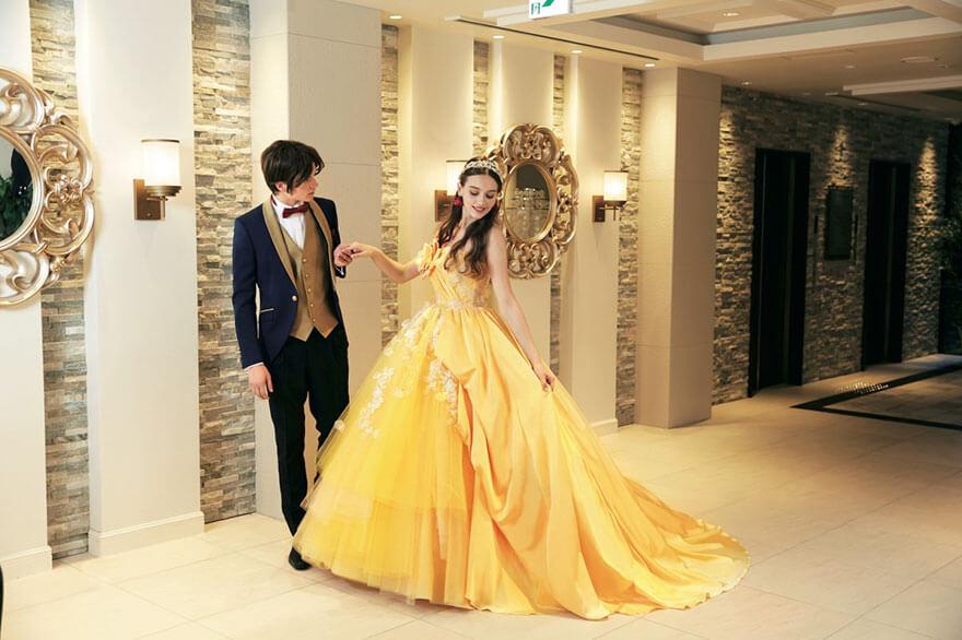 Anggun dan Cantik, Kolaborasi Disney-Perusahaan Jepang Buat Wedding Dress