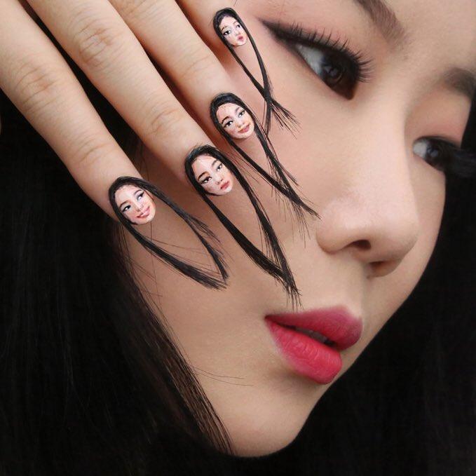 hair nails dain yoon