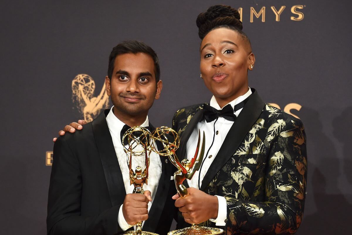 Julia Louis-Dreyfus Cetak Rekor di Emmy Awards 2017 aziz ansari lena waithe