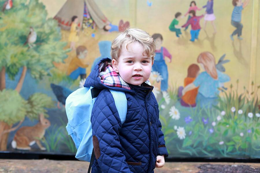 kate middleton pangeran william anak ketiga pangeran george