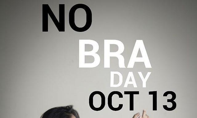 No Bra Day: Wanita Diajak Enggak Pakai Bra di 13 Oktober Ini