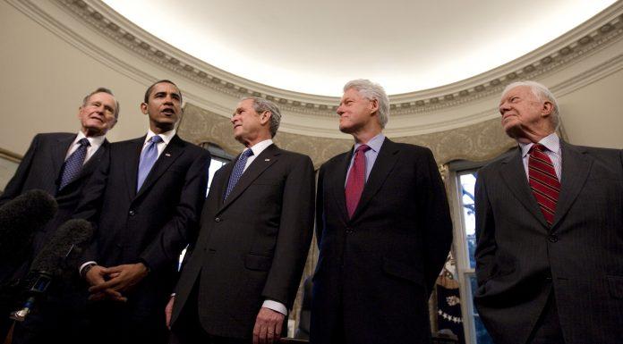 5 Mantan Presiden Amerika Serikat Bersatu Membantu Korban Bencana Alam