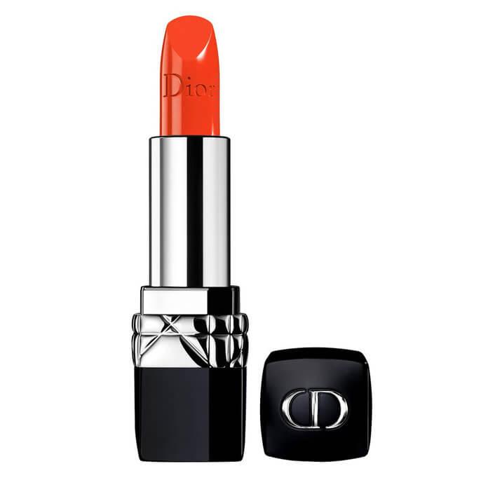 Tips Menggunakan Lipstik Warna Orange