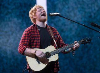 Ed Sheeran Resmi Bertunangan dengan Teman Masa Kecilnya -cover