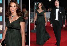 Di Karpet Merah BAFTA, Kate Middleton Tunjukkan Dukungannya pada Gerakan #MeToo