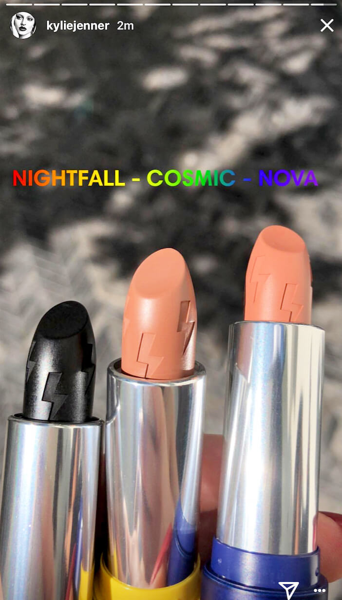 Terinspirasi dari Puterinya, Kylie Jenner Rilis Koleksi Makeup Terbaru