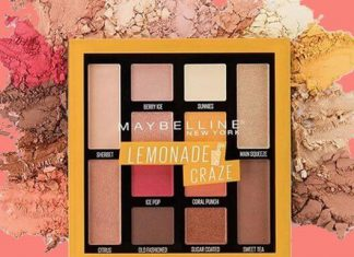 Maybelline Lemonade Craze: Palet Eyeshadow Beraroma Lemon