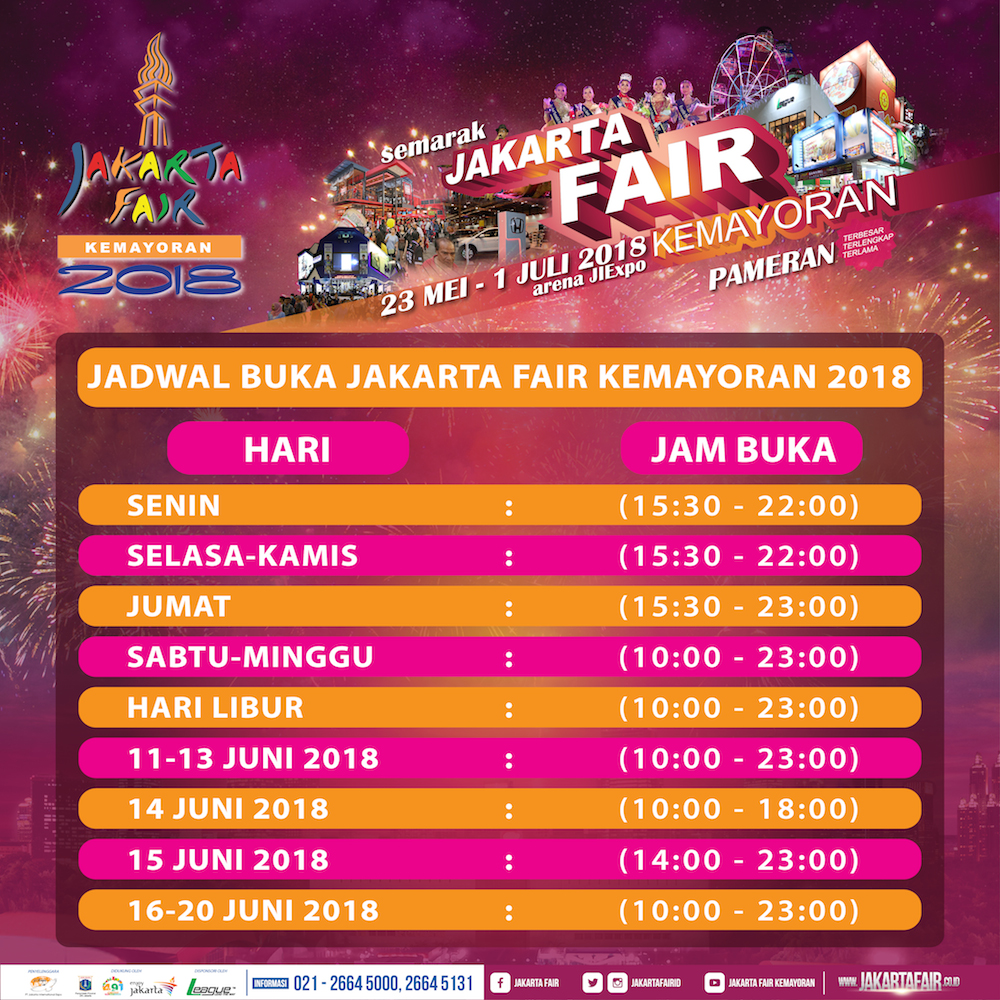 pekan raya jakarta 2018 segera hadir di jiexpo kemayoran meramuda rh meramuda com