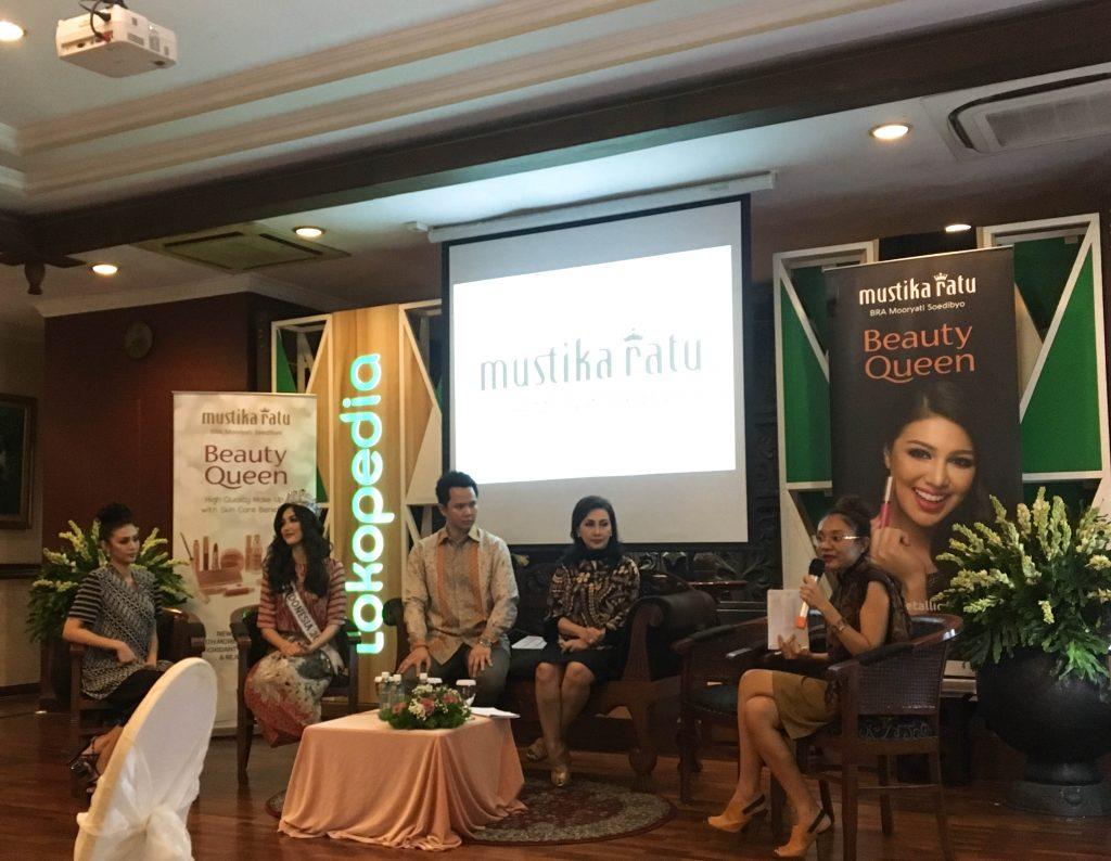 Tokopedia dan Mustika Ratu Berkolaborasi Meluncurkan Beauty Queen Series