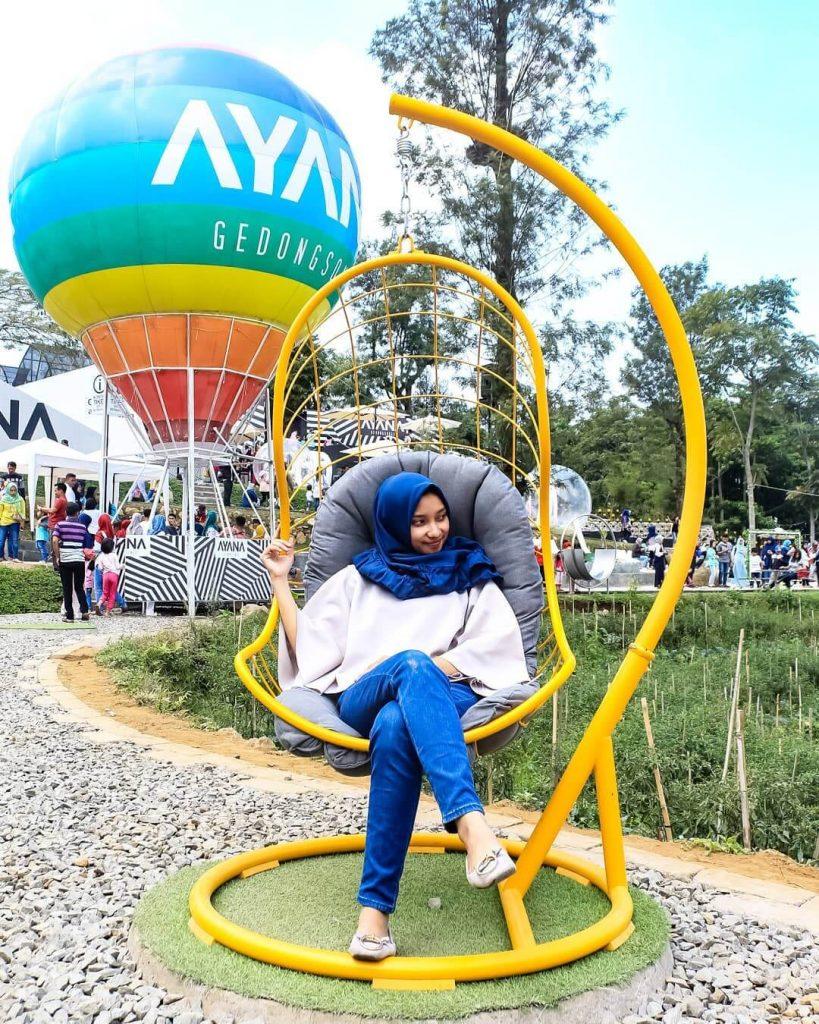 Ayana Gedongsongo Semarang Destinasi Wisata Bertabur Spot Selfie