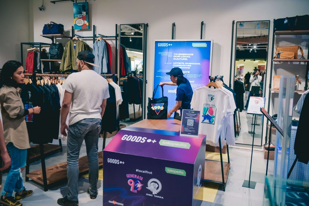 Gandeng Tokopedia, The Goods Dept. Umumkan Kolaborasi Eksklusif GOODS Dotplus