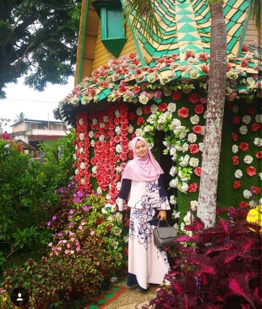 Green House Lezatta, Spot Instagenic Penuh Warna Warni Lucu di Bukittinggi