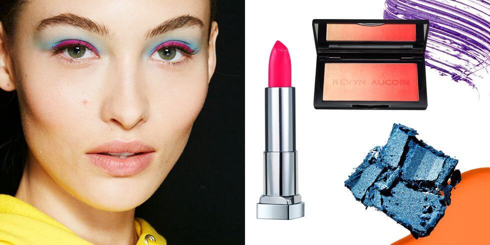 Tips Menggunakan Makeup Neon Elektrik