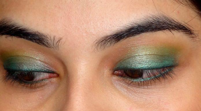 inspirasi eyeshadow hijau