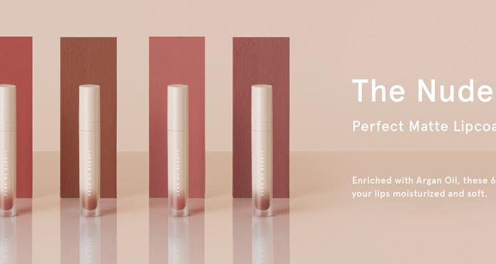 Rekomendasi Lipstik Matte Brand Lokal, Dear Me Perfect Nude Collection