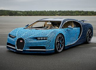 Intip Test Drive Bugatti Chiron yang Terbuat dari 1.000.000 Keping Lego Ini Yuk