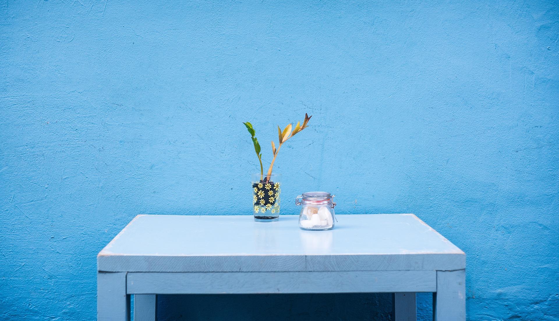 9 Padu Padan Warna Yang Cocok Dengan Dekorasi Biru Di Dalam Rumah Portal Wanita Muda Perpaduan warna biru yang cocok
