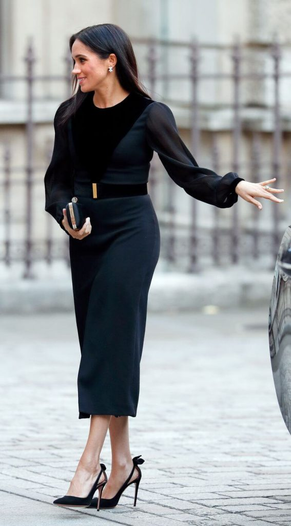 6 Trik Fashion Meghan Markle Menyembunyikan Kehamilannya dari Media