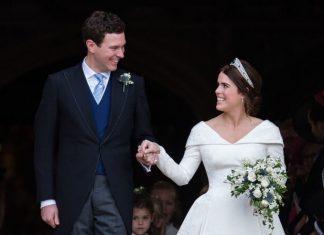 Foto-Foto Resmi dari Pernikahan Putri Eugenie, Super Manis!