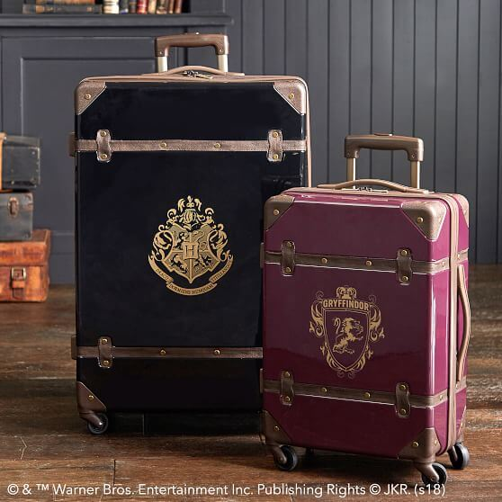 Tas Traveling dengan Tema Harry Potter, Style Vintage yang Manis
