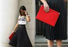 8 Tips OOTD dengan Padu Padan Rok Midi