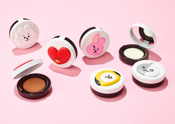 BTS X VT Cosmetics Keluarkan Berbagai Produk Makeup Berdesain Imut