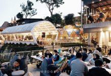 Cakrawala Nature Sparkling Restaurant, Nongkrong dengan Panorama Gugusan Bintang