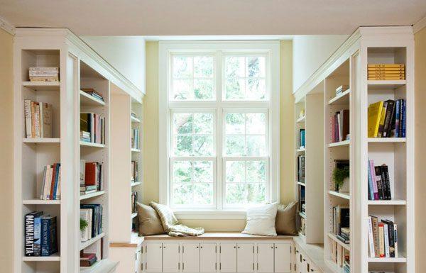 Ide Penyimpanan Buku di Sekitar Rumah