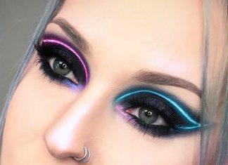 Neon Eyeliner: Tren Baru di Instagram