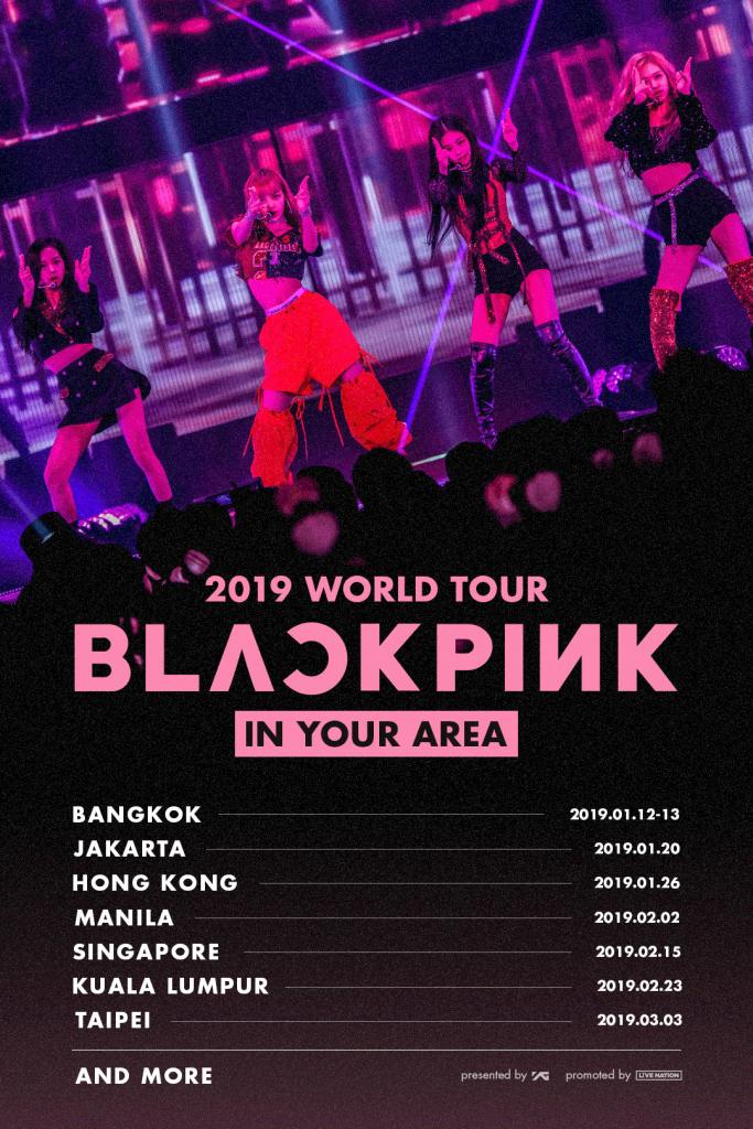 Blink Indonesia Siap-Siap, Blackpink Akan Konser Januari 2019 Mendatang!