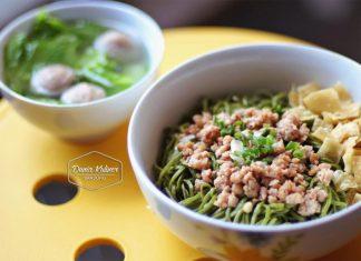 Mie Green Tea, Kuliner Unik ala Bandung