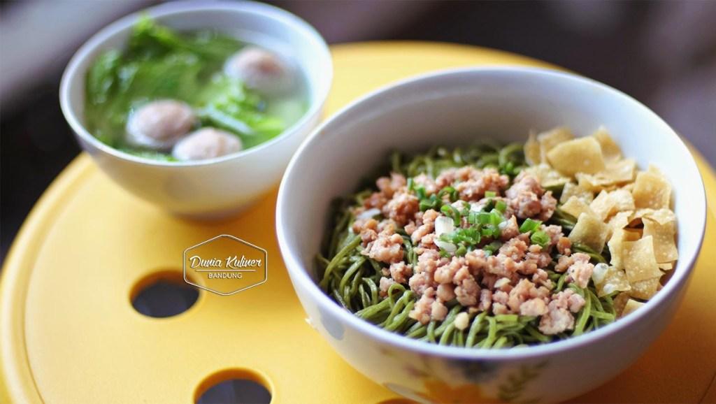 Mie Green Tea Kuliner Unik Ala Bandung Portal Wanita Muda