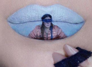 Super Kece, Intip Lukisan Pop Culture di Bibir ala Ryan Kelly
