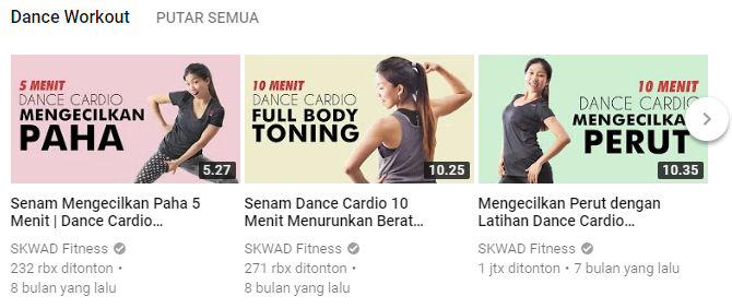 Subscribe 5 YouTube Channel Ini, Dijamin Motivasi Olahragamu Makin Tinggi