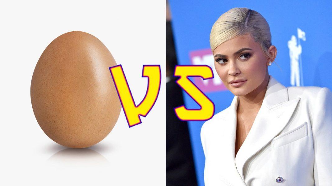Lengserkan Kylie Jenner, Telur Ini Jadi Akun dengan Like Foto Terbanyak