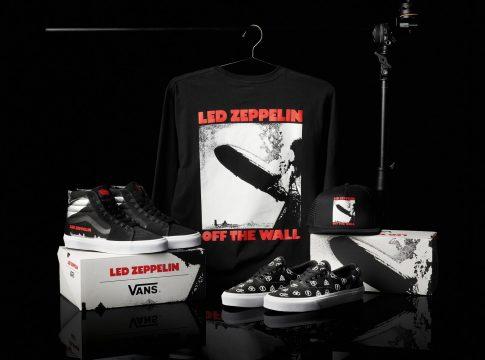 Rayakan Ulang Tahun ke-50, Led Zeppelin Berkolaborasi dengan Vans Luncurkan Dua Sneaker Kece!