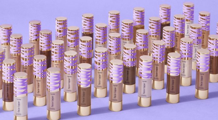 Gantikan Shape Tape Foundation, Tarte Merilis Face Tape Foundation dengan 50 Shade