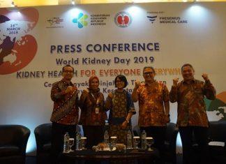 Peringati Hari Ginjal Sedunia 2019, Kementerian Kesehatan RI dan Sektor Swasta Tingkatkan Akses Layanan Kesehatan Ginjal
