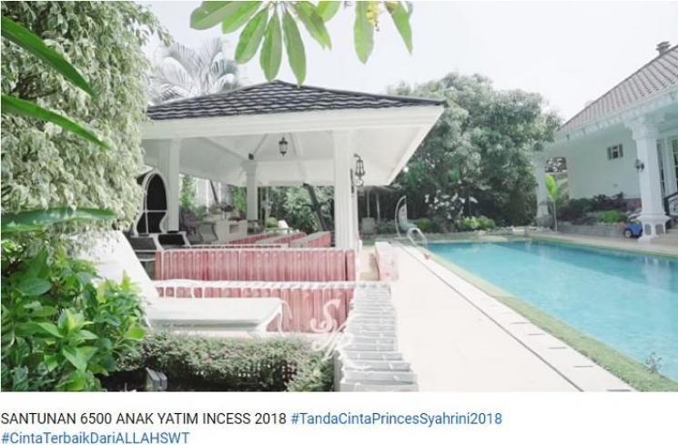 Deretan Potret Rumah Mewah Syahrini di Jakarta, Bak Istana Raja!
