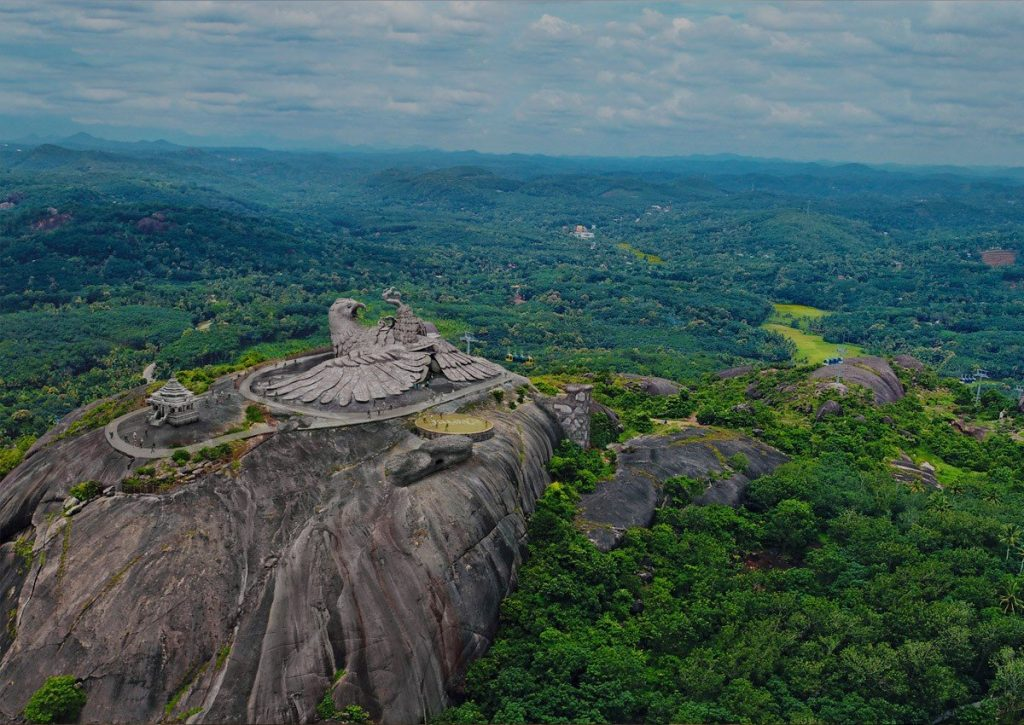 Patung Burung Terbesar di Dunia Baru Selesai Dibangun di India