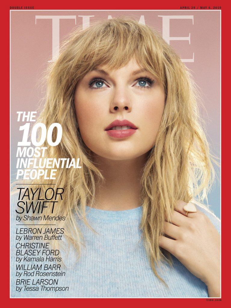 Taylor Swift Masuk Daftar 100 Orang Paling Berpengaruh Versi Majalah Time