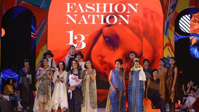 Intip Budaya Indonesia dalam Koleksi NY by Novita Yunus di Senayan Fashion Nation 2019